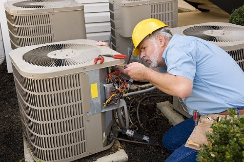 AC unit install